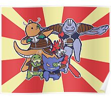 Pokemon Ginyu Force! Poster