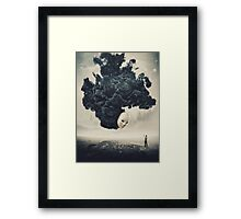 The Selfie A Dark Surrealism Framed Print