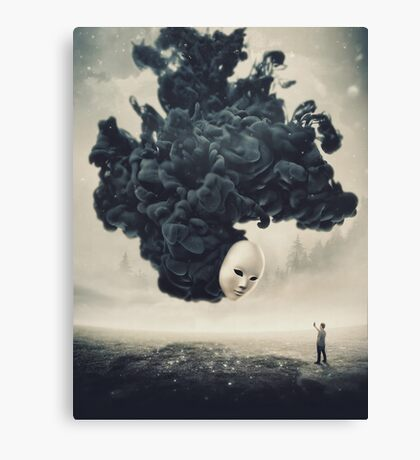 The Selfie A Dark Surrealism Canvas Print