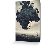 The Selfie A Dark Surrealism Greeting Card