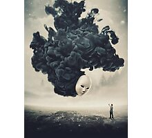 The Selfie A Dark Surrealism Photographic Print