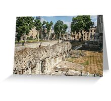 Within the Walls Greeting Card