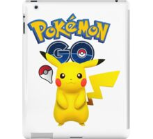 Pokemon GO - Pikachu iPad Case/Skin