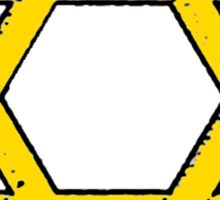 Golden Star of David Sticker