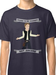 Han Solo: Raised to be Charming Classic T-Shirt