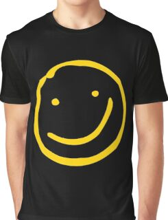 Smile if You're Bored Graphic T-Shirt