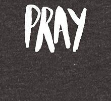 Pray Typography x Navy Pullover