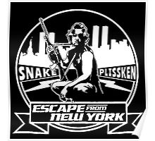 Snake Plissken (Escape from New York) Badge Poster