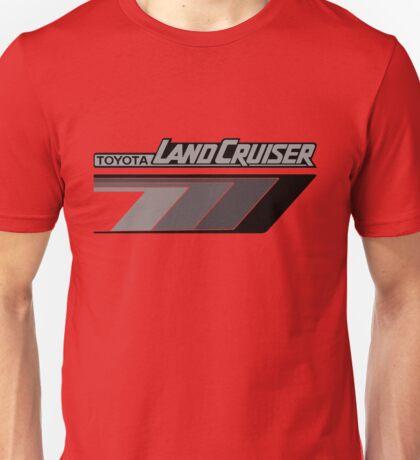 Land Cruiser body art series, grey arrows.  Unisex T-Shirt