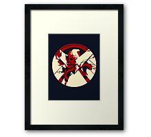 Shield or Hydra  Framed Print
