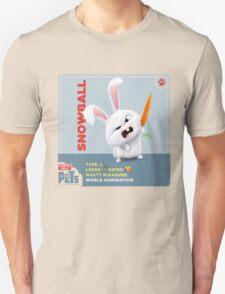 The Secret Life Of Pets Snowball Unisex T-Shirt