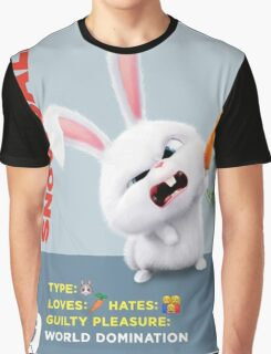 The Secret Life Of Pets Snowball Graphic T-Shirt