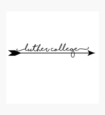 Luther College Arrow Photographic Print