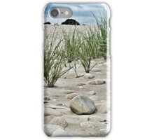 Dune Grass, Sand and Beach Rocks iPhone Case/Skin