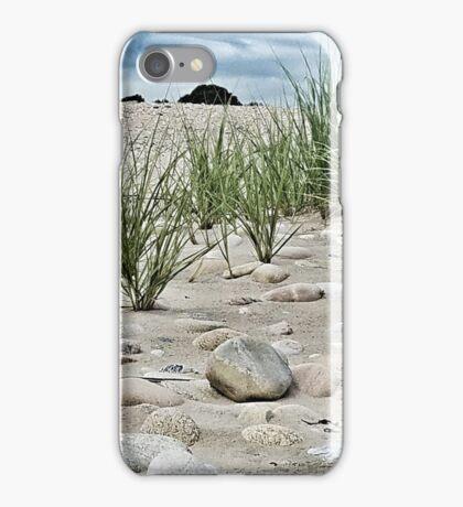 Dune Grass, Sand and Beach Rocks iPhone Case/Skin