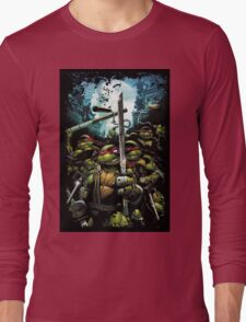 Teenage Mutant Ninja Turtles - TMNT Retro Long Sleeve T-Shirt