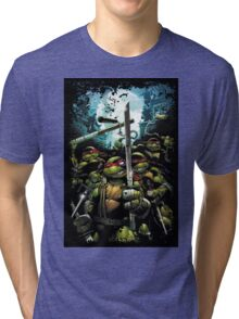 Teenage Mutant Ninja Turtles - TMNT Retro Tri-blend T-Shirt