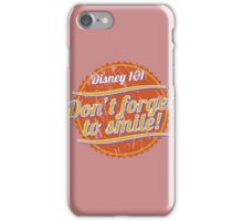 Don't Forget to Smile! iPhone Case/Skin