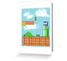 Whos' World Greeting Card