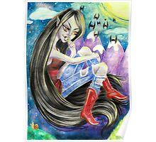 Marceline the Vampire Queen Poster