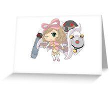 Chibi Haruka  Greeting Card