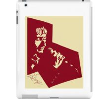 Our Mutual Friend - dark red/light yellow iPad Case/Skin
