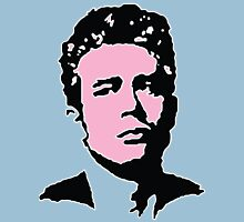 James Dean - Pink & Blue Unisex T-Shirt