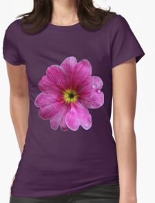 Yellow Eyed Pinkie Womens Fitted T-Shirt