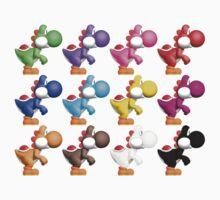 Yoshi Colours Kids Tee