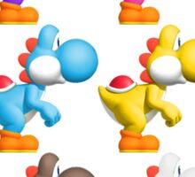 Yoshi Colours Sticker