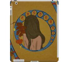 Pocahontas Art Neuveau iPad Case/Skin