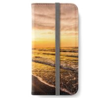 Sunrise at the Beach iPhone Wallet/Case/Skin
