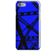 Railroad Beams Ink iPhone Case/Skin