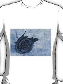 The last rose of summer cyanotype T-Shirt