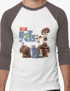 The Secret Life Of Pets Men's Baseball ¾ T-Shirt