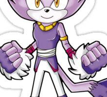 Sonic Boom: Blaze the Cat Sticker