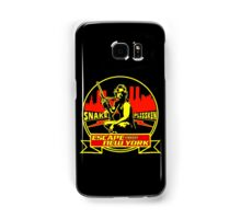 Snake Plissken (Escape from New York) Badge Colour Samsung Galaxy Case/Skin