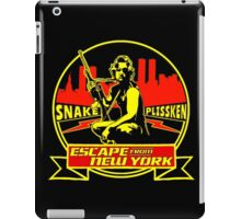 Snake Plissken (Escape from New York) Badge Colour iPad Case/Skin