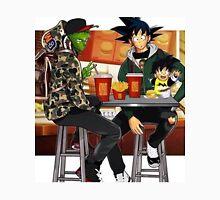 Goku, Piccolo and Gohan at McDonalds Unisex T-Shirt