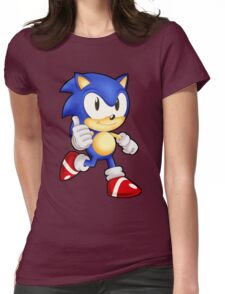 Classic Sonic the Hedgehog Womens Fitted T-Shirt