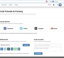 Invite Friend Option in Fantacy - http://www.fancyclone.net by hitasoft