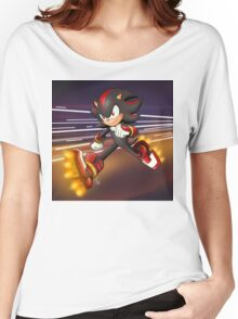 Sonic Boom: Shadow the Hedgehog Women's Relaxed Fit T-Shirt