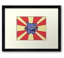 Captain Gengar of Ginyu Squad Framed Print