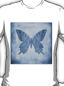 Butterfly Textures Cyanotype T-Shirt