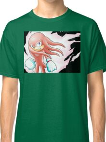 Hyper Knuckles the Echidna Classic T-Shirt