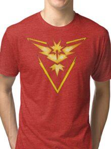Watercolor Team Instinct Logo Tri-blend T-Shirt