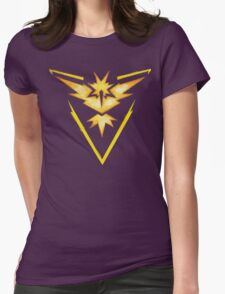 Watercolor Team Instinct Logo Womens Fitted T-Shirt