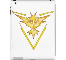 Watercolor Team Instinct Logo iPad Case/Skin