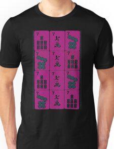 Lucky Sevens in Fuschia #16 Unisex T-Shirt