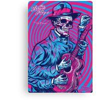 Turn blue Canvas Print